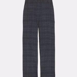 Zara Plaid Straight Leg Pant